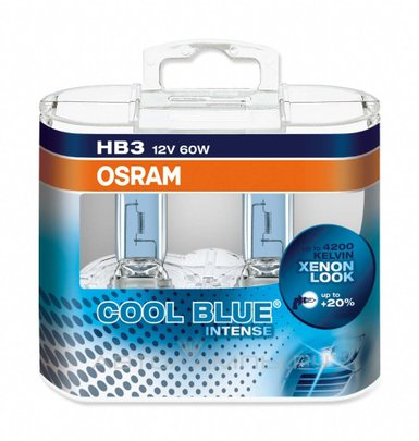 Автолампа OSRAM Cool Blue Intense HB3 9005 4200k 65w 12v 9005CBI