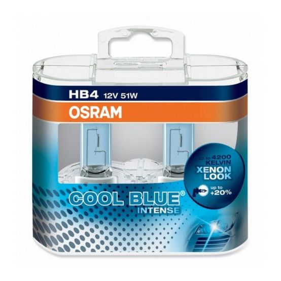 Автолампа OSRAM Cool Blue Intense HB4 9006 4200k 51w 12v 9006CBI