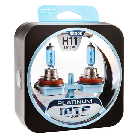 Автолампа MTF Light PLATINUM H11 3800k 55w 12v